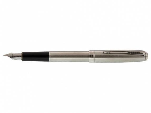 Ручка Parker F25 РП Sonnet CT сталь, фото 2