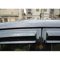 Volkswagen Jetta 2006-2011 гг. Ветровики (4 шт, Aomis)