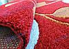 """Ковер Пикассо """"цветочный узор"""", цвет красный, фото 2"""
