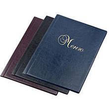Папка меню Panta_Plast 0309-0015-01 черный А4 6 файлов