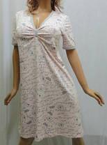 Ночная рубашка с коротким рукавом и различными принтами, фото 3