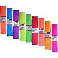 Набор гофрированной бумаги Мандарин КП027/06 оранжевый 28 г/м2 150% 50х200 см (919) флуоресц