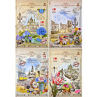 Дневники Мандарин ДН070 48л тв/обл., мат. ламинация, 1601-1604