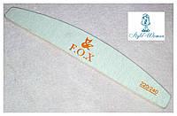 Пилка F.O.X фокс 220/240 грит пилочка для ногтей