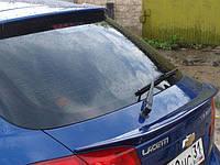 Спойлер багажника (сабля, лип спойлер, утиный хвостик)  Chevrolet Lacetti хэчбэк шевролет лачети