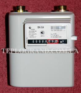 Газовый мембранный счетчик Elster BK-G 4 (1 ¼