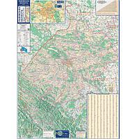 План автодороги Ипт Карта автодорог Львовская обл М1:200000