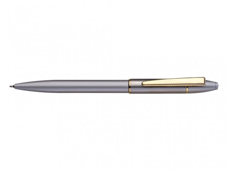 Ручка без футляра FlairP 776 синий РШ Souvenier сатин голд