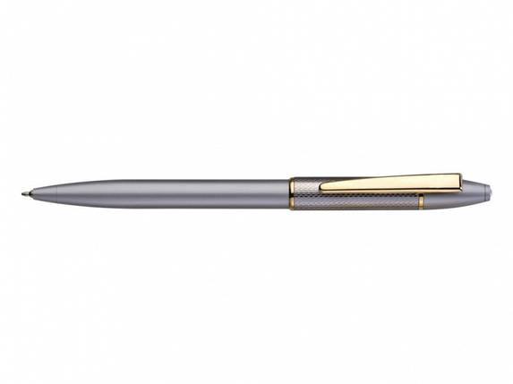 Ручка без футляра FlairP 776 синий РШ Souvenier сатин голд, фото 2