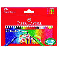 Карандаши цветные Faber_Castell 120057 24цвета 24шт 75мм воск