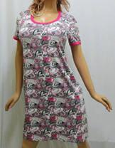 Молодёжная ночная рубашка, сорочка, фото 3