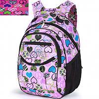 Рюкзак Dolly16 585 микс размер 30x40x22см, спинка ортопедическая