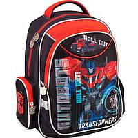 "Рюкзак Kite16 TF16-512S красно-серый ""512 Transformers"" размер 38х29х13см, вес 800г, объём 14л, ортопедическая спинка"