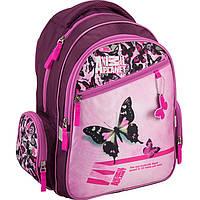 "Рюкзак Kite16 AP16-520S фиолетово-розо ""520 Animal Planet"" размер 38х29х13см, вес 750г, объём 14л, ортопедическая спинка"