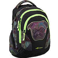 "Рюкзак Kite16 K16-957L-1 черно-зеленый ""957 Beauty - 1"" размер 43x30x15см, вес 360г, объём 25л, уплотненная спинка"