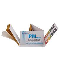 Лакмусовая бумага 1-14 pH. - 80 штук, фото 1