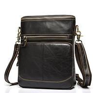 e76b493efbcf Мужская кожаная сумка-планшетка BEXHILL в винтажном стиле кофейного цвета