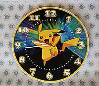 Часы настенные Покемон детские