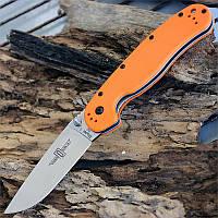 Складной нож Ontario Rat Folder 1 D2 Orange, Лезвие из стали D2 (Оригинал)