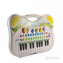 Детский музыкальный инструмент «Genio kids» (PK39FY) синтезатор Поющие друзья