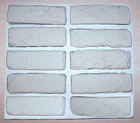 Силиконовая форма для литья гипсовой плитки Старый кирпич