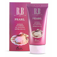 BB-крем с экстрактом жемчуга Ekel Pearl BB Cream SPF50/PA+++