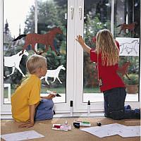 Маркер меловой edding e-4090 Window 4-15мм, салатовый