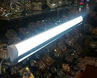 Светильник светодиодный 36W 1200мм линейный плазма на 2 полосы HOROZ 4200К, 6400К LED IP20 (аналог ЛПО 2*36), фото 1