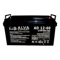 Аккумуляторная батарея ALVA battery AD12-60