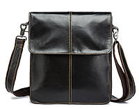 Долговечная кожаная сумка для мужчин BEXHILL кофейного цвета