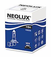 HB4 Автолампа галоген(неолюкс) NEOLUX HB4 12V 51W P22D-для фар головного света и сигнального освещен,