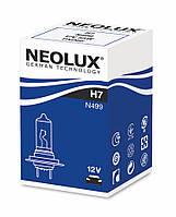 H7 Автолампа галоген(неолюкс) NEOLUX H7 12V 55W PX26D-для фар головного света и сигнального освещен,