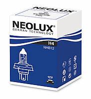R2 Автолампа галоген(неолюкс) NEOLUX R2 12V 45/40W P45T-для фар головного света и сигнального освещен,