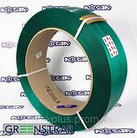Лента упаковочная полиэстеровая GREENSTRAP 12 х 0.6