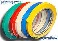 Скотч лента для клипсаторов SuperSeal 9 мм х 60 м цветная