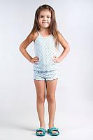Пижама из топа и шортиков( для девочки)