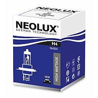 H4 Автолампа галоген(неолюкс) NEOLUX H4 12V 100/80W P43T-для трофи и внедорожной езды