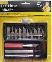 Комплект ножи-резцы для резьбы по дереву, пластику, гипсу. тт.