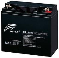 Аккумулятор ИБП 12В 18Ач AGM Ritar RT12180 / 12V 18.0Ah / 181х77х167 мм