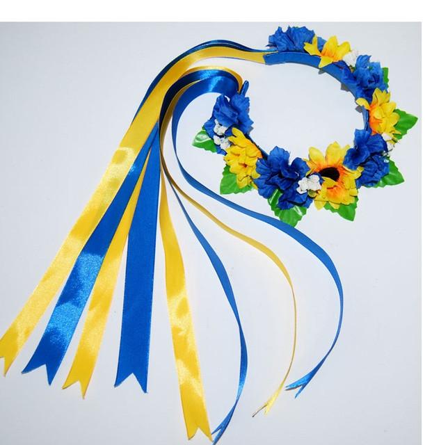 Пояса (крайки), украинские веночки с лентами, обручи
