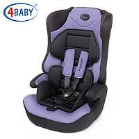4 Baby автокресло (1/2/3) Voyager (Purple) фиолетовый