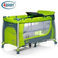4 Baby манеж тур. Moderno (Green) зеленый
