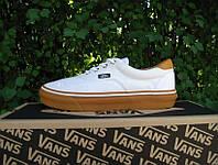 Кеды мужские Vans (ванс) белые
