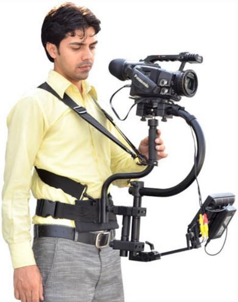 Система стабилизации С-Flycam + пояс с плечевыми ремнями