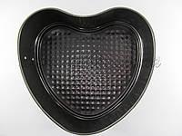 Металлическая форма для выпечки сердце 21 см
