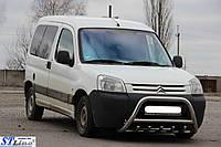 Peugeot Partner 1996-2008 Передний кенгурятник WT003 51 мм
