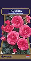 Бегония махровая бело-розовая (Голландия) 10 драже