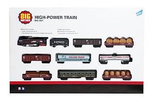 Железная дорога «Big Motors» (19033-8) железная дорога с 9 вагонами