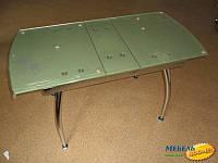 Стол стеклянный BIO- Джес, зеленый