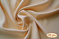Ткань для задника подушки, бежевый лен-рогожка